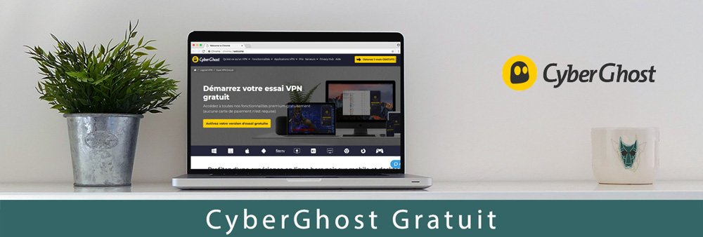 Illustration : CyberGhost gratuit