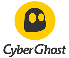 Logo de Cyberghost en hauteur
