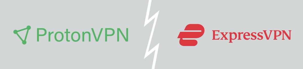 Illustration : ExpressVPN vs ProtonVPN