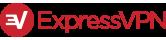 logo ExpressVPN en longueur