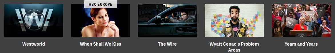 illustration montrant d'uatres contenus HBO accessibles