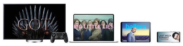 Image des supports compatibles avec HBO