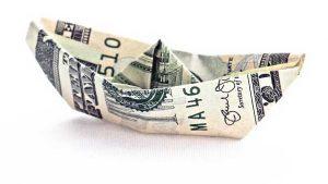 Billet de banque pour illustrer le prix d'un VPN