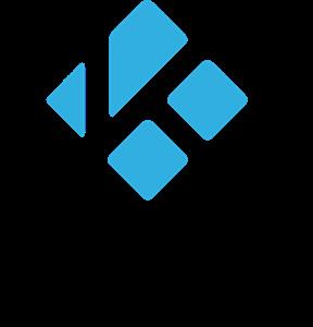 illustration du Logo de Kodi, compatible avec les IPTV et les VPN