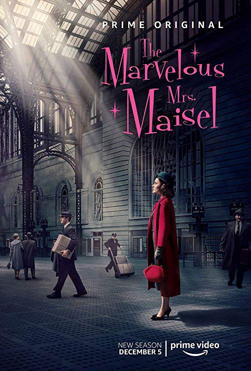 série originale d'amazon Prime video : Ms Maisel affiche