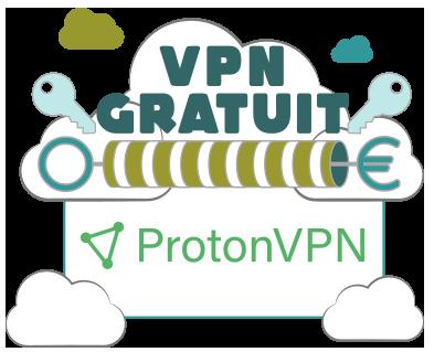 Illustration : Picto de ProtonVPN gratuit