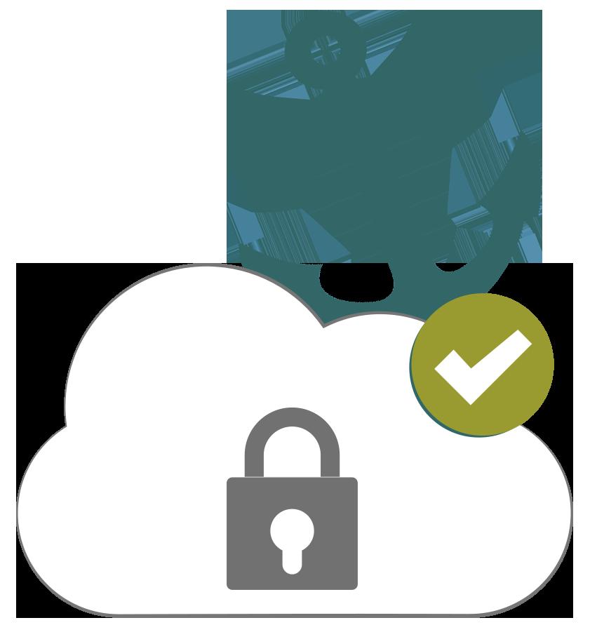 illustration ancre : picto VPN avec option IP statique dédiée
