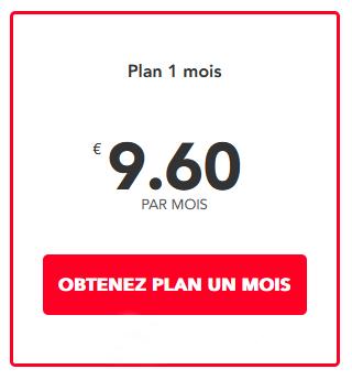 PureVPN : Plan pour 1 mois