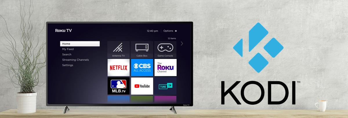 illustration d'une smartTV. Tuto Kodi qui fonctionne sur Roku