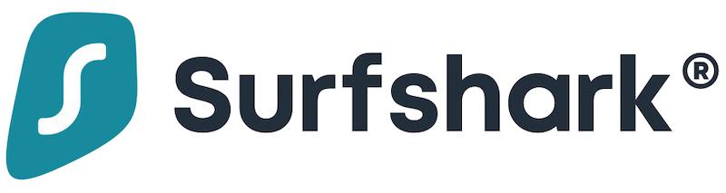 logo de Surfshark en longueur