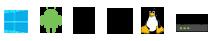 Illustration : Systèmes et supports compatibles avec ProtonVPN