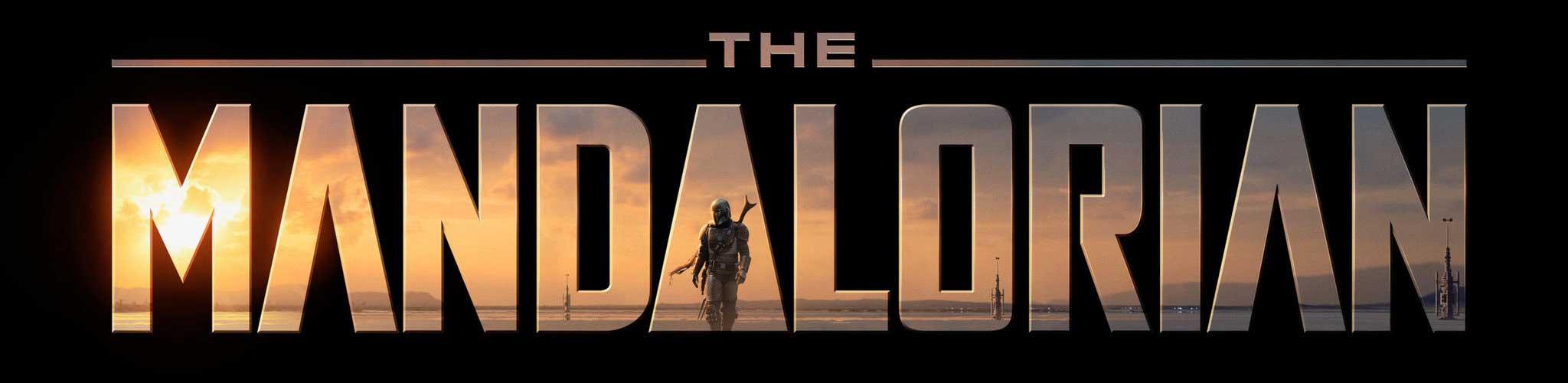 logo de la série the mandalorian diffusé sur Disney+
