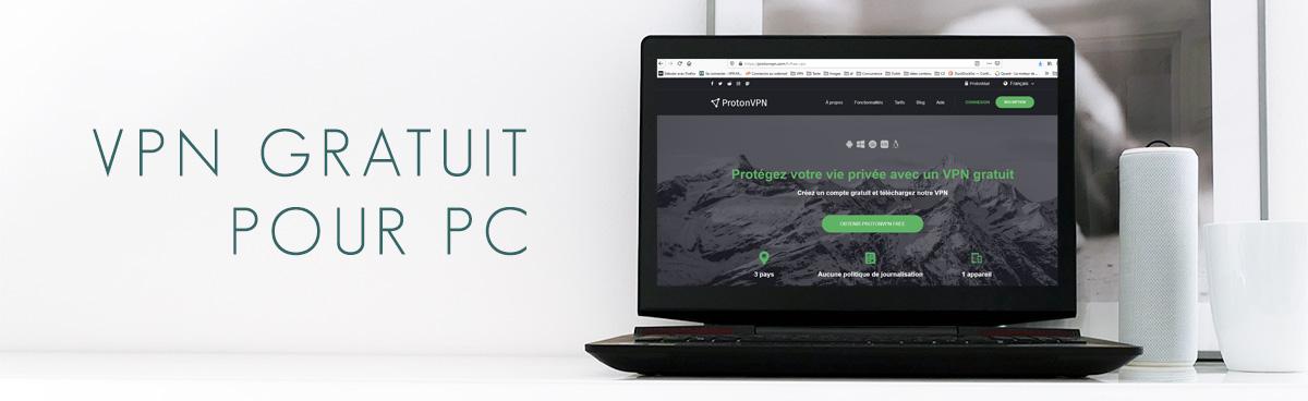 illustration : VPN gratuit pour PC Windows