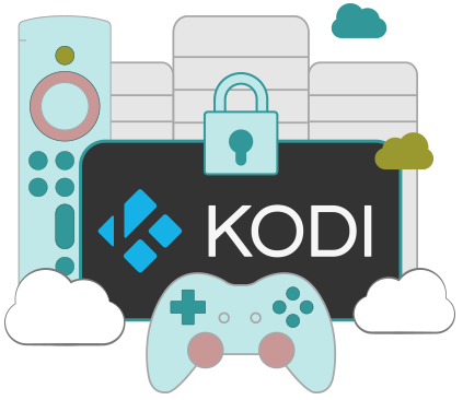 Illustration : VPN pour Kodi