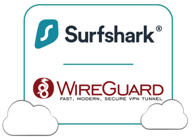 Illustration : Wireguard sur Surfshark