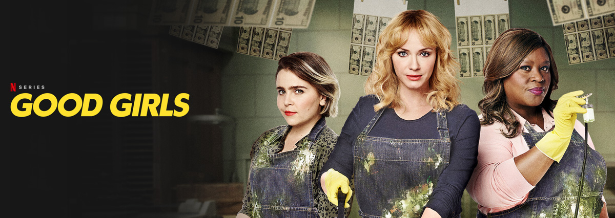 Illustration : Affiche Good Girls sur Netflix