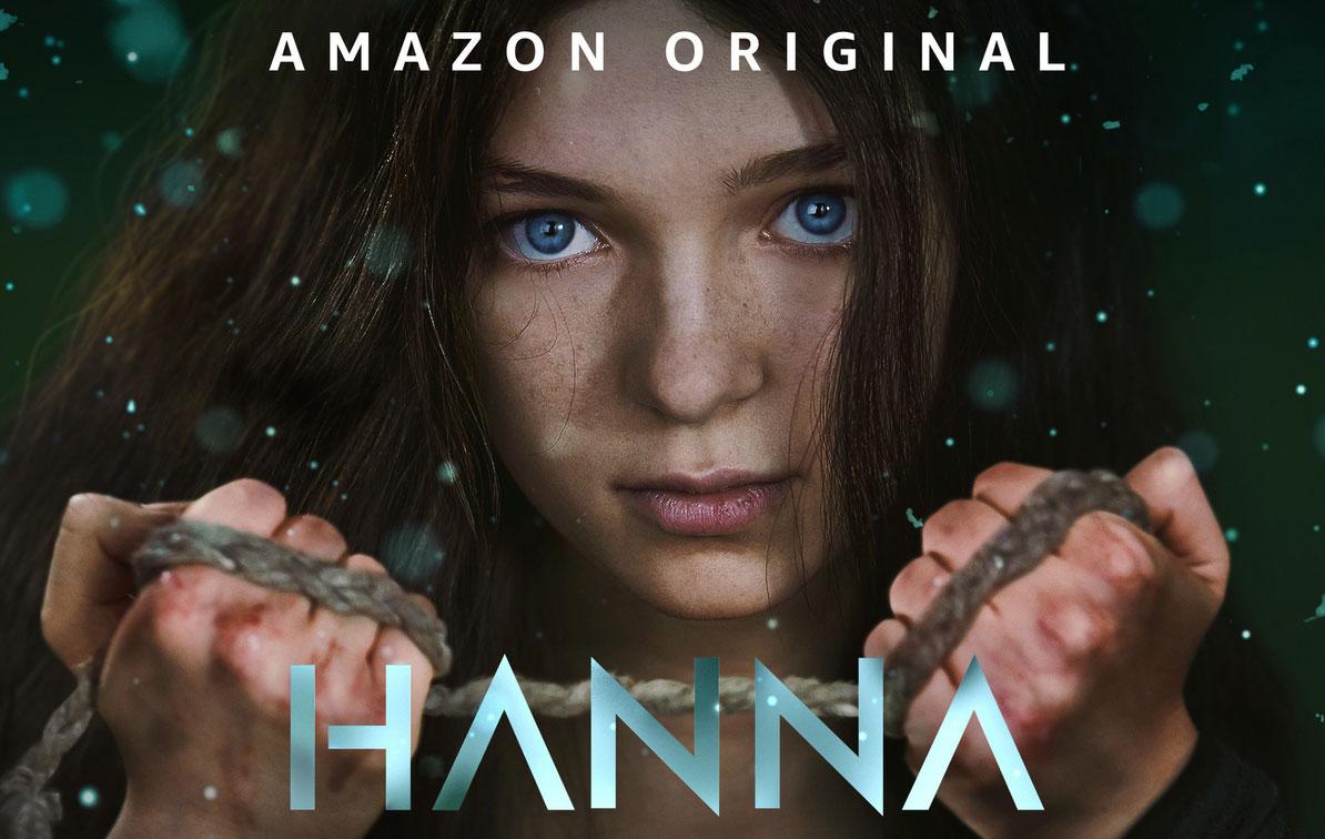 Illustration : Affiche de la Série Hanna sur Prime Video