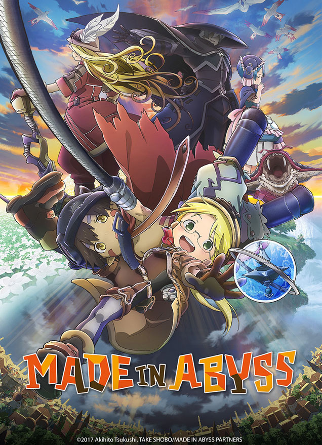 illustration : affiche Made in abyss