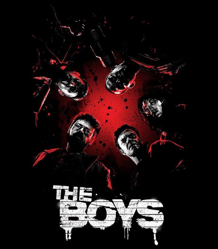 Illustration : Affiche the boys sur Prime video
