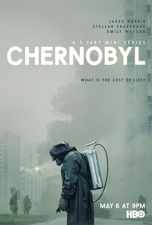 affiche de Chernobyl une minisérie d'HBO Now