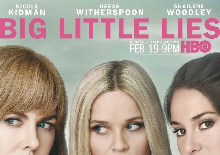 affiche big Little lies sur HBO Now