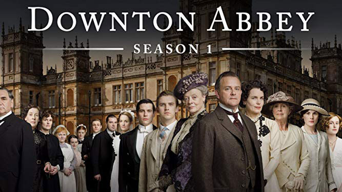 série originale d'amazon Prime video : Downton Abbey