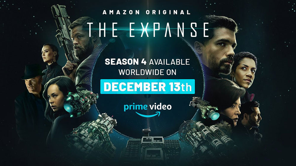 série originale d'amazon Prime video : The Expanse