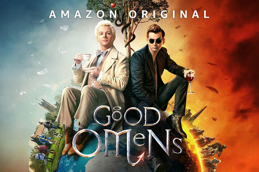 série originale d'amazon Prime video : Good Omens
