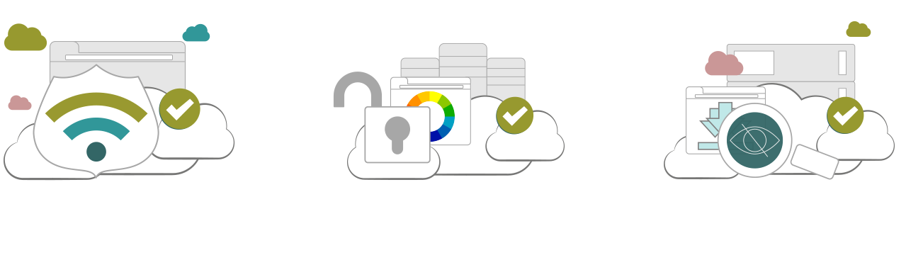 Illustration : avantages d'un VPN utorrent
