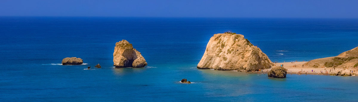 Illustration : Pétra tou Romioú, rocher d'Aphrodite à Chypre