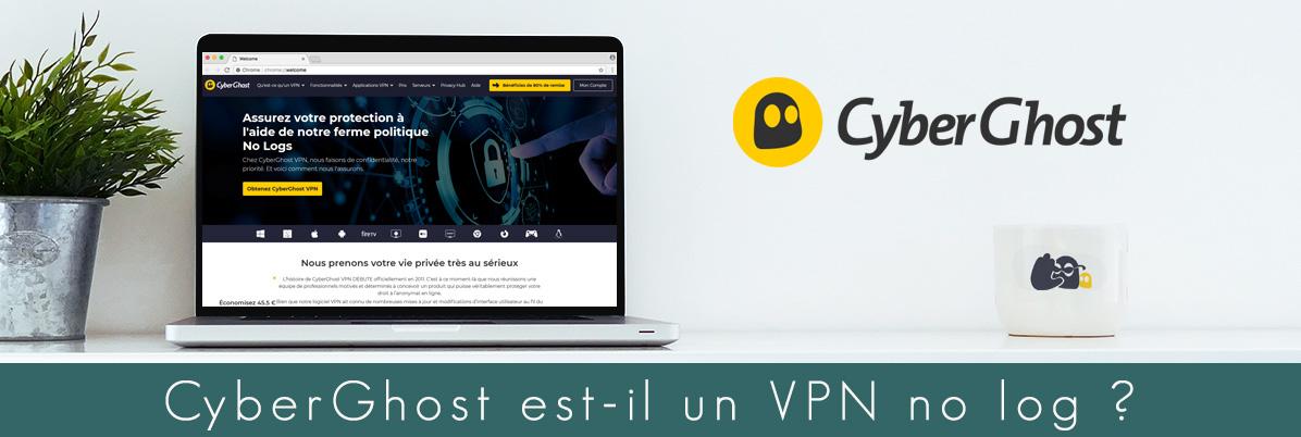 Illustration : CyberGhost no log VPN