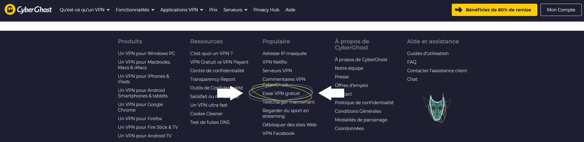 Illustration : comment obtenir CybgerGhost gratuitement pour Netflix ?