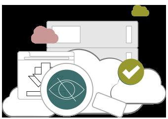 Illustration : Vos données deviennent confidentielles