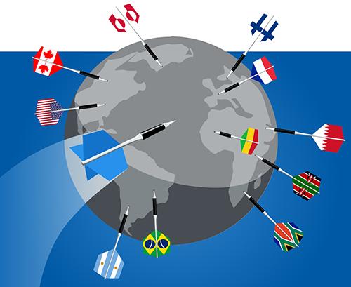 illustration HMA : différents emplacements de serveurs