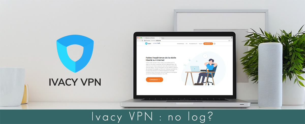 Illustration Ivacy VPN no log