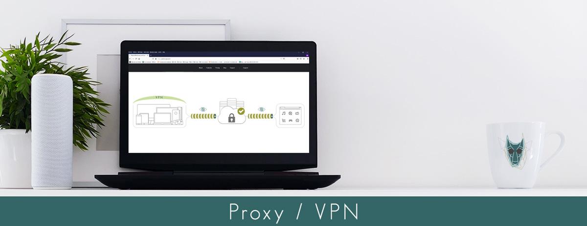 illustration proxy vpn