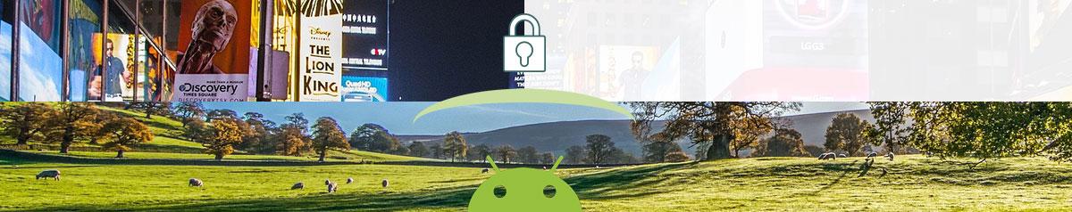illustration bloqueur de pub Android