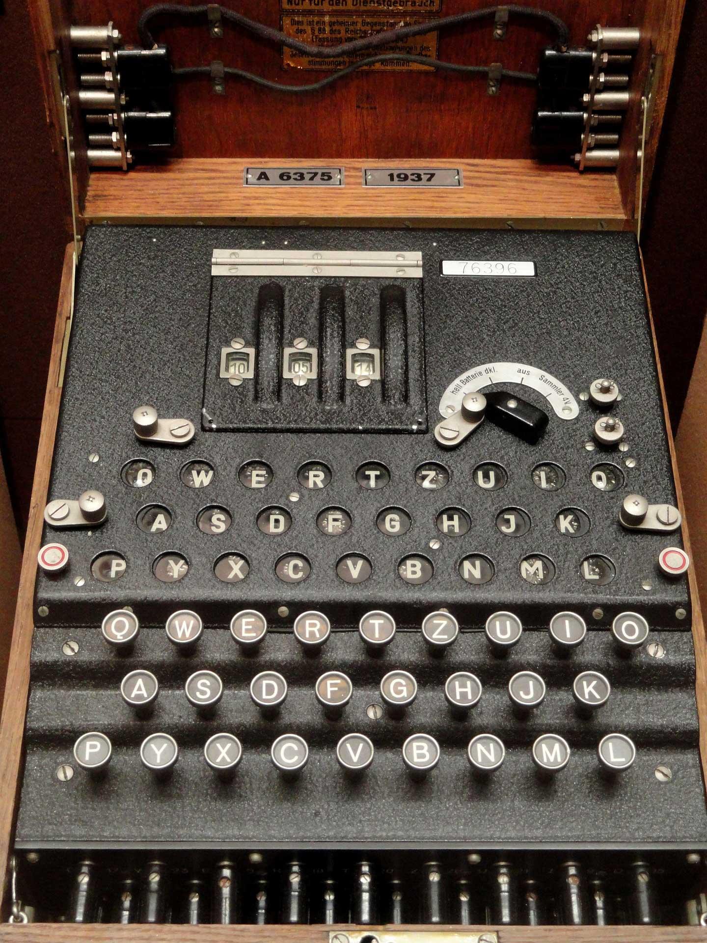 Enigma est une machine à chiffrement