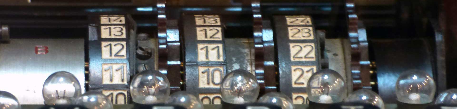 illustration rouleaux appareil à chiffrer