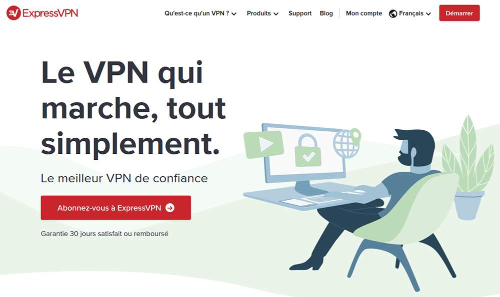 version ExpressVPN en français
