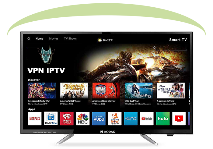illustration VPN IPTV