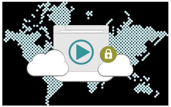 Illustration : VPN streaming