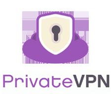 logo de PrivateVPN : Offre vpn sans abonnement/VPN sans engagement