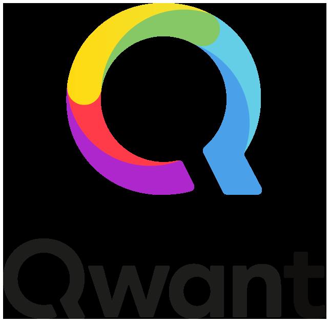Illustration : logo du moteur de recherche Qwant