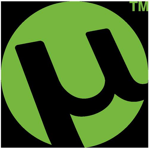 Illustration : logo utorrent