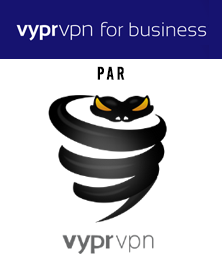 illustration : Logo de Vypr for business, le service de VPN entreprise de VyprVPN