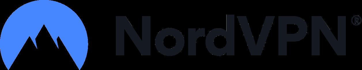 Logo de NordVPN en longueur