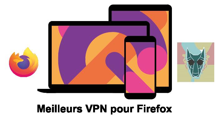 illustration des meilleurs VPN pour Firefox