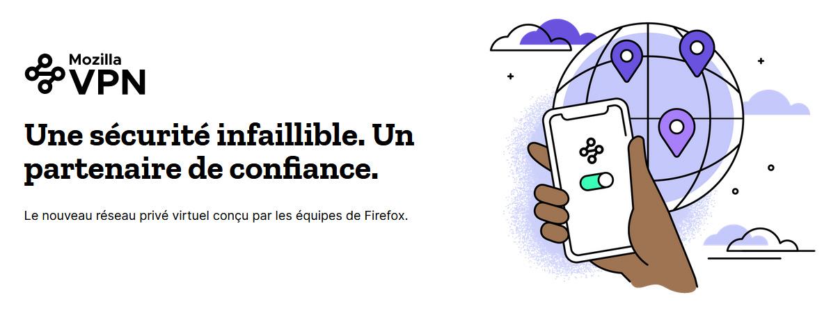 Illustration : Mozilla VPN