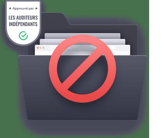 Illustration : traitement des données personnelles chez NordVPN